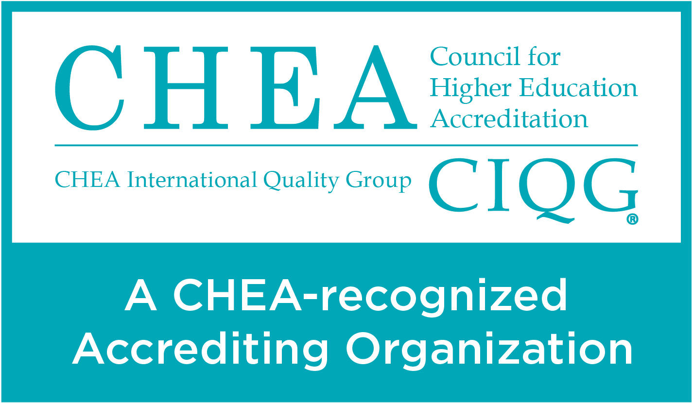 Council for Higher Education Accreditation recognized organization logo