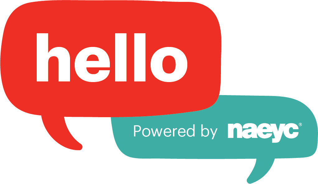 Logo for Hello the online community space