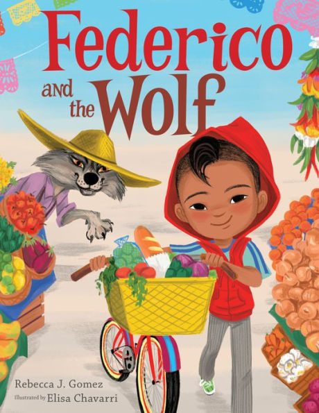 Book cover for Frederico and the Wolf.