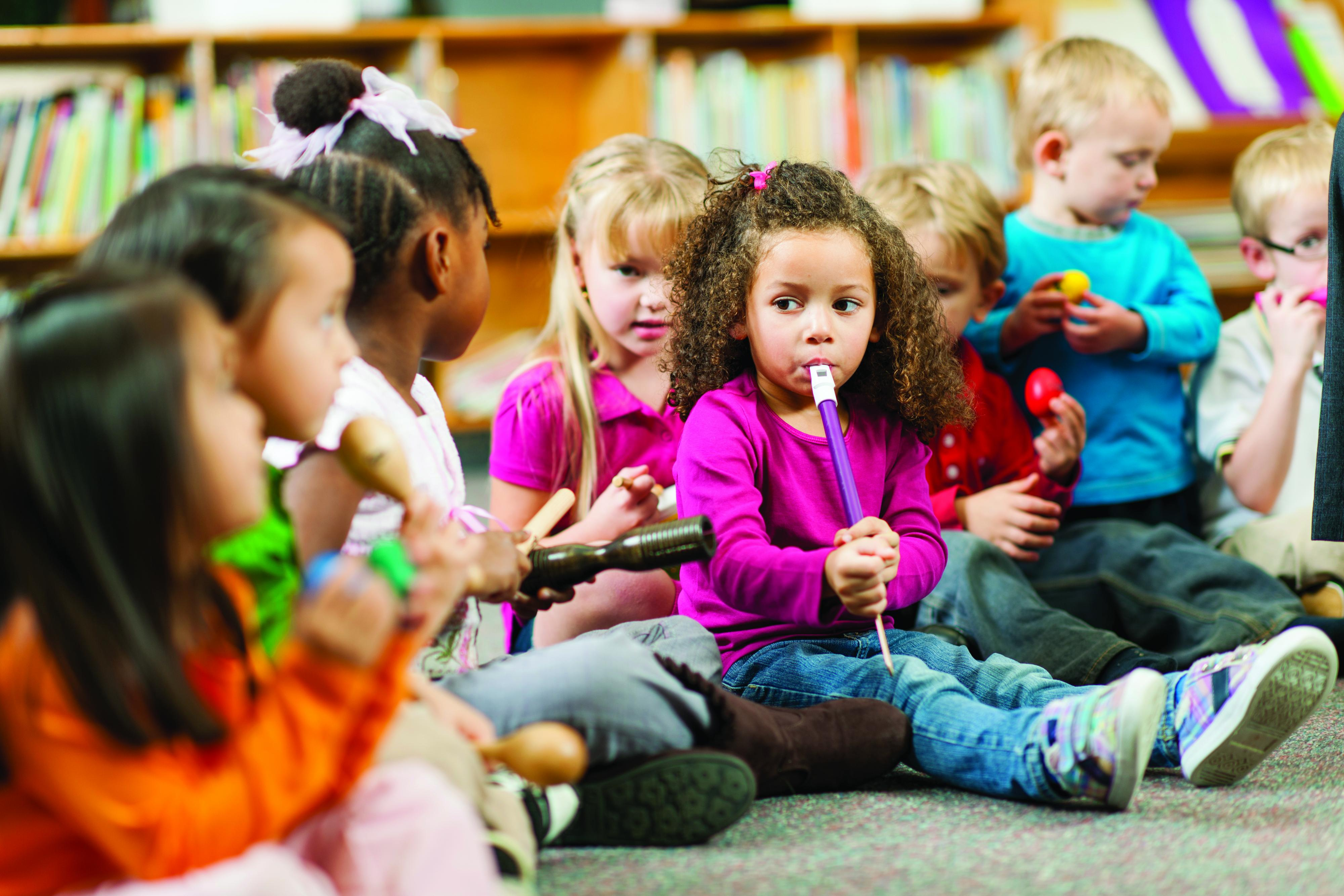 child childrens music school - HD4000×2667