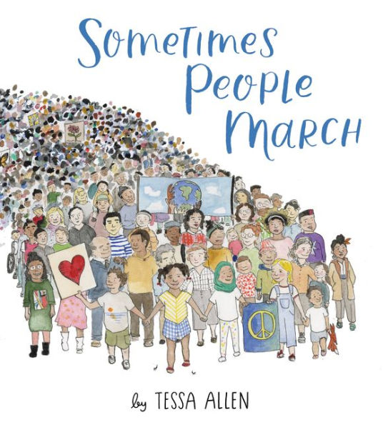 Book cover for Sometimes People March.