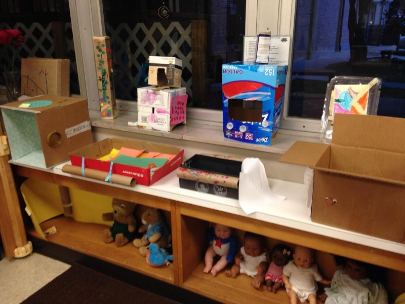 Organizing and displaying our toys