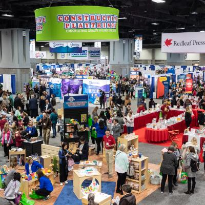 The 2018 Annual Conference Expo Hall