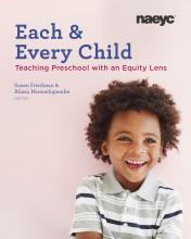 """Preschool boy on the cover of """"Each and Every Child"""""""