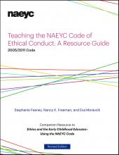 Cover of Teaching the NAEYC Code of Ethical Conduct