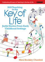 Cover of the Key of Life, showing drawings of young children and musical notes