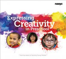 cover of Expressing Creativity in Preschool