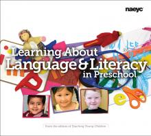 Cover of Learning About Language and Literacy in Preschool