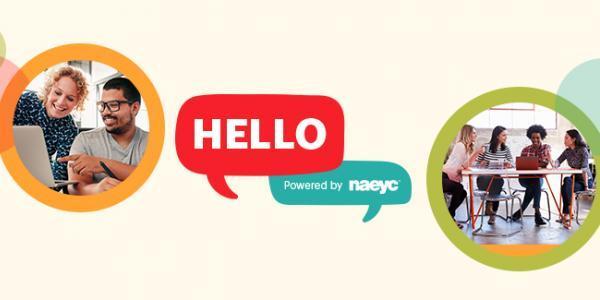 NAEYC Hello Banner