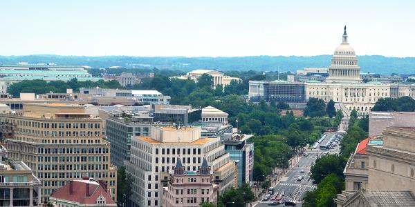 Image of the Washington, D.C. skyline.