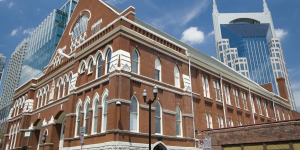 The Ryman Auditorium, Nashville, TN