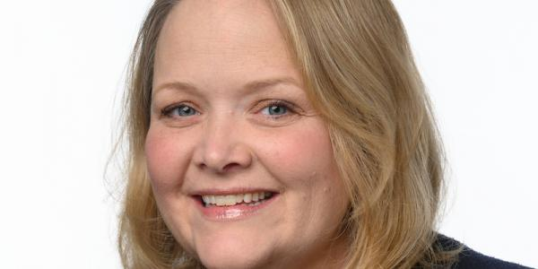a portrait of rhian evans allvin, ceo of the national association for the education of young children