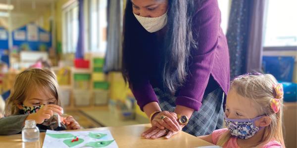 this months feature teacher, anshu williams
