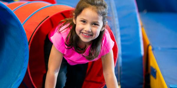 Smiling kindergartner