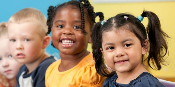 Children in childcare program