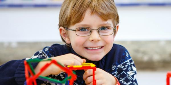 Child making connective structure.
