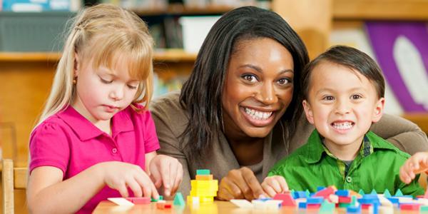Educator with Children