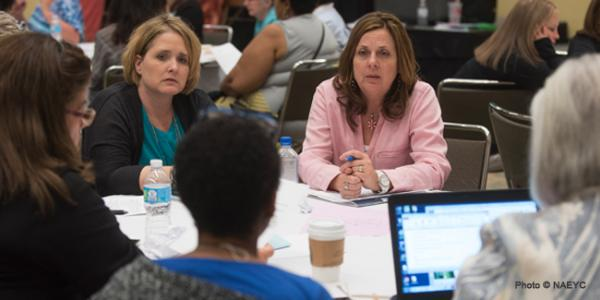 Participants at NAEYC's Professional Learning Institute