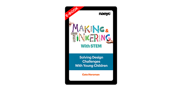Cover of the Making and Tinkering with STEM e-book