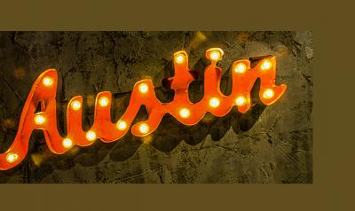 Picture of Austin sign.