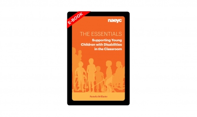 The cover of The Essentials: Supporting Young Children with Disabilities in the Classroom