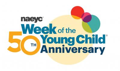 NAEYC Week of the young child logo
