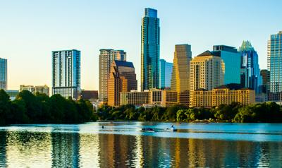 Skyline view of Austin.