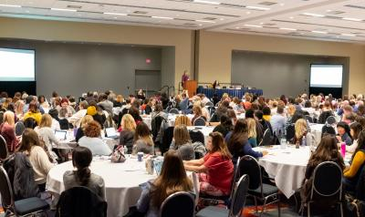 Session attendees at an NAEYC conference.
