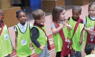 Children on a field trip
