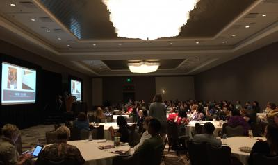 Participants in a session at the 2018 Professional Learning Institute