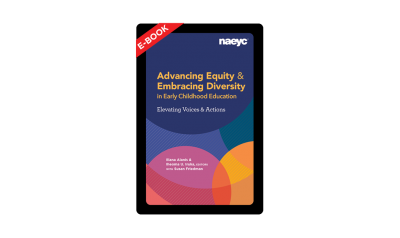 The cover of the e-book, Learning Stories and Teacher Inquiry Groups: Reimagining Teaching and Assessment in Early Childhood
