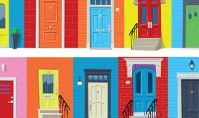 multiple doors graphic