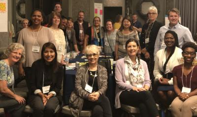Group of interest forum facilitators gathered at the Equity Summit Summer 2018