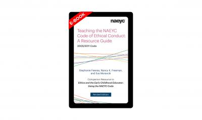 cover of Teaching the NAEYC Code e-book