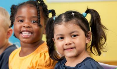 Five diverse children