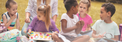 Classroom playing with activities outside