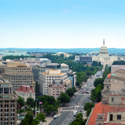 Image of the Washington, D.C. skyline.