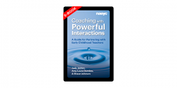 Book cover of Coaching with Powerful Interactions