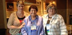Pictured: Dr. Cindy Ryan, Dr. Thelma Harms, Linda Craven