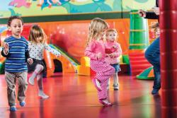 Children hip hop dancing