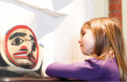 Young girl looks to find meaning in art