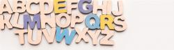 Alphabet letters blocks
