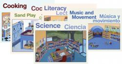 Preschool Learning Centers (10-Poster Set)