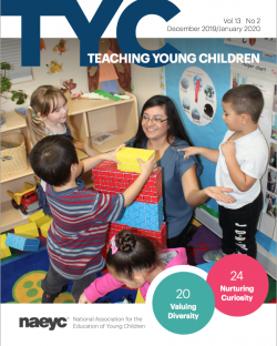 Cover of the December/January issue of TYC