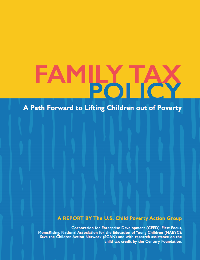 Family Tax Policy cover