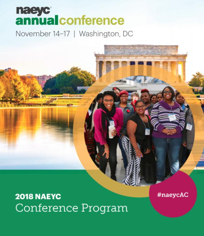2018 Annual Conference Program Cover